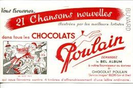 """CHOCOLAT POULAIN - Chanson Illustrée """"Ma Petite Folie"""" - Cacao"""