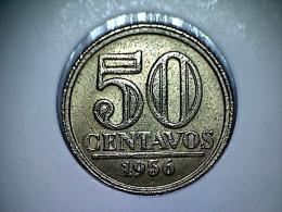 Brésil 50 Centavos 1956 - Brasil