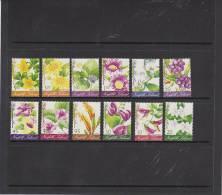 Norfolk Island-2002 Flowers Definitives, 12 Stamps MNH - Norfolk Island