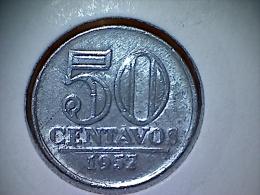Brésil 50 Centavos 1957 - Brasil
