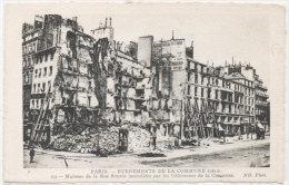 PARIS -  Evénements De La Commune (1871) Maisons De La Rue Royale Incendiée Par Les Défenseurs ..;  (79625) - Unclassified
