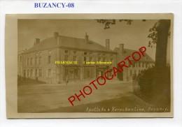 BUZANCY-CARTE PHOTO Allemande-Guerre14-18-1 WK-Militaria-France-08- - Non Classés