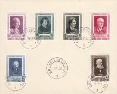 Nr 892/897 FDC, Cote = 160 € (X11242) - 1951-60