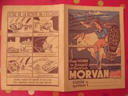 prot�ge-cahier chaussures Morvan. vache montagnes. vers 1950.
