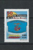 EC - 2001 - 2529 - 50 JAHRE HANDELSMARINE  - MNH -POSTFRISCH -** - Equateur