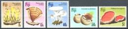 Fiji Fidji 1984 Yvertn° 493-97 *** MNH   Cote 15 Euro Paddestoelen Mushrooms Champignons - Fidji (1970-...)