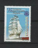 EC - 2000 - 2477 - SHIP -GUAYAS -SCHIFF   - MNH -POSTFRISCH -** - Equateur