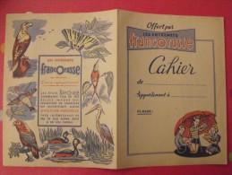 Protège-cahier Entremets Francorusse. Album D'images. Vers 1950. - Protège-cahiers