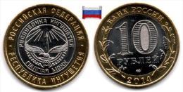 Russie - 10 Roubles 2014 (Republic Of Ingushetia - Unc) - Russia