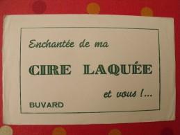 Buvard Cire Laquée. Vers 1950. - C