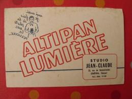 Buvard Pellicule Photo Altipan Lumière. Studio Jean-Claude. Créteil. Vers 1950. - Carte Assorbenti