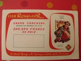 Buvard Livres Collection Rouge Et Or.  Club. Vers 1950. - Buvards, Protège-cahiers Illustrés