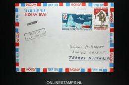 Terres Australes Et Antarctique Françaises 1974 INCONNU RETOUR A L 'ENVOYEUR - Terres Australes Et Antarctiques Françaises (TAAF)