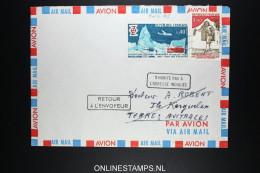 Terres Australes Et Antarctique Françaises 1974 N'HABITE PAS A L'ADRESSE INDIQUÉE - RETOUR A L 'ENVOYEUR - Terres Australes Et Antarctiques Françaises (TAAF)