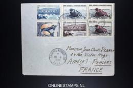 Terres Australes Et Antarctique Françaises 1959  15Franc Est Paire - Covers & Documents