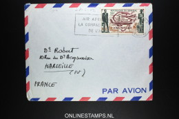 Senegal: Dakar A Marseille Par Air Afrique 1962 - Senegal (1960-...)