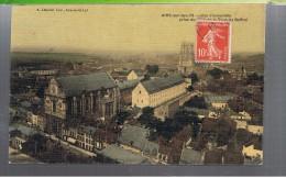 CPA-62-1909-AIRE-sur-la-LYS-VUE D'ENSEMBLE PRISE DE LA TOUR DU BEFFROI- - Aire Sur La Lys