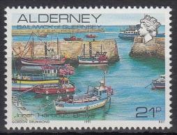 Alderney MiNr. 48 ** Freimarken: Ansichten In Alderney - Alderney