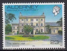 Alderney MiNr. 54 ** Freimarken: Ansichten In Alderney - Alderney