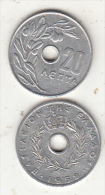GREECE - Olive Tree, Coin 20 Lepta, 1959 - Griechenland