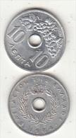 GREECE - Grapes, Coin 10 Lepta, 1964 - Greece