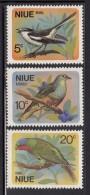 Niue MH Scott #139-#141 SG #158-#160 Set Of 3 Birds - Heahea, Kulukulu, Henga - Niue