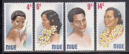 Niue MH Scott #143-#146 SG #162-#165 Set Of 4 People Of Niue - Niue