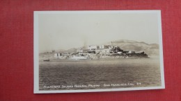 RPPC Alcatraz Islabd Federal Prison San Fran Cal  Has Scotch Tape Stain On Backref  1951 - Prison