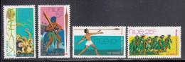 Niue MH Scott #147-#150 SG #166-#169 Set Of 4 South Pacific Festival Of The Arts, Fiji - Niue