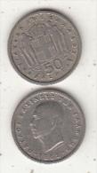 GREECE - King Paulos, Coin 50 Lepta, 1962