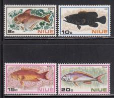 Niue MH Scott #156-#159 SG #175-#178 Set Of 4 Fish - Niue
