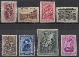 Belgique - YT N° 504 à 511 - Neufs * - MH - Cote: 45,00 € - Nuovi