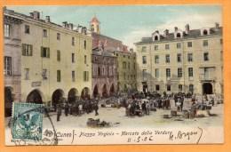 Cuneo Coni 1906 Postcard - Cuneo