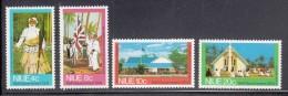 Niue MH Scott #167-#170 SG #186-#190 Set Of 4 Referendum For Self-Government - Niue