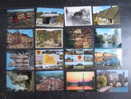LOT 100 CP FRANCE (M1519) Toutes Régions (7 Vues) Voyagé - Non Voyagé - Cartes Postales