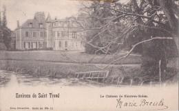 ENVIRONS DE SAINT-TROND-LE CHATEAU DE NIEUWENMOLEN-KASTEEL-VERZONDEN-1911-ZIE 2 SCANS - Sint-Truiden