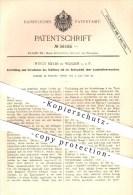 Original Patent - Hugo Meyer In Werden A. D. R. , 1890 , Verschieben Des Schlittens Mit Der Bohrspindel , Bohrmaschine ! - Historical Documents