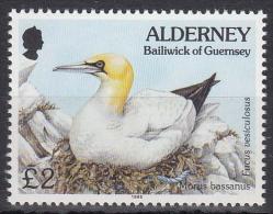Alderney MiNr. 82 ** Freimarken: Fauna Und Flora - Alderney