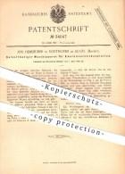 Original Patent - Jos. Heimhuber In Sonthofen Im Allgäu , 1885 , Waschapparat Für Emulsionstrockenplatten , Fotografie ! - Historische Dokumente