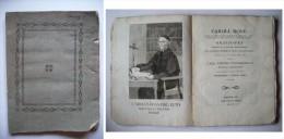 Caroli Rosae. Orationes Habitae In Seminario Mediolanensi Pro Solemni Studiorum Annua Instauratione... 1809 - Libri Vecchi E Da Collezione