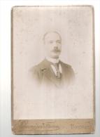 Photo Panajou Frere Portrait Format 16cmx10cm BORDEAUX - Personnes Anonymes
