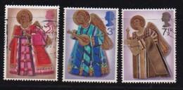 UK 1972 Used Stamp(s) Christmas Nrs. 606-608 - 1952-.... (Elizabeth II)