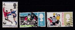 UK 1966 Used Stamp(s) Worldcup Soccer Nrs. 422-424 - 1952-.... (Elisabeth II.)