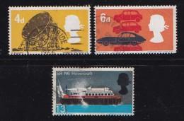 UK 1966 Used Stamp(s) British Technology Nrs. 430-433 (3 Values Only) - 1952-.... (Elizabeth II)