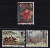 UK 1967 Used Stamp(s) British Painters Nrs. 466-468 - 1952-.... (Elizabeth II)