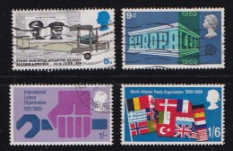 UK 1969 Used Stamp(s) Various Projects Nrs. 511-515 (4 Valuesonly) - 1952-.... (Elizabeth II)