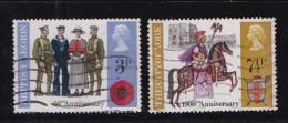 UK 1971 Used Stamp(s) Anniversaries Nrs. 580-582, #14370 (2 Values Only) - 1952-.... (Elizabeth II)