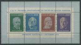 Gabun 1968 C. Dornier Block 16 A Gestempelt (R20143) - Gabun (1960-...)