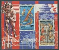 Dschibuti 1983 Olympiade Los Angeles Block 75 A Postfrisch (R20115) - Dschibuti (1977-...)