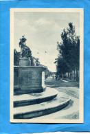 SAN BENEDETTO DEL TRONTO-La Rue Animée -statue -a Voyagé En 1936-édition Sciocchetti - Altre Città
